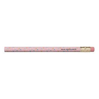 Le rose d'amusement a modelé 2 lignes crayon