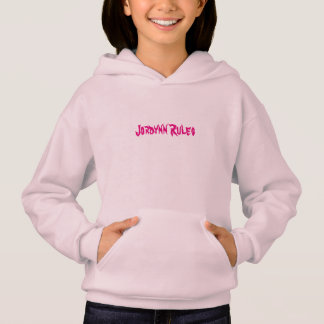 "Le rose ""Jordynn ordonne"" le sweatshirt"