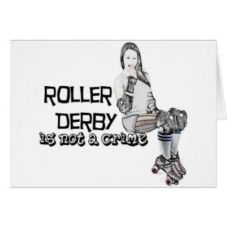 Le rouleau Derby n'est pas un crime Carte