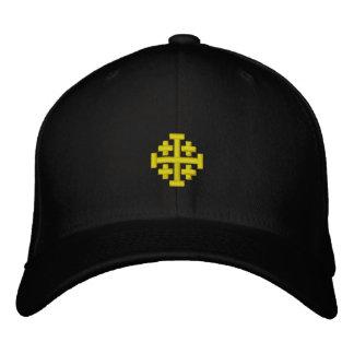 Le royaume de Jérusalem a brodé le casquette