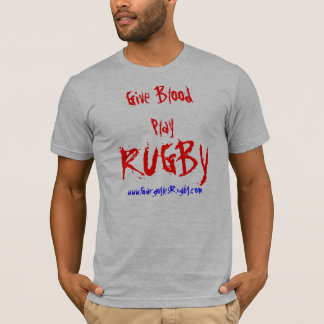 Le RUGBY, donnent BloodPlay, T-shirt