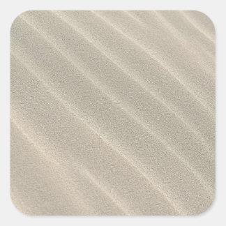 le sable ondule des autocollants