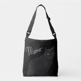 Le sac de Meow de chat noir