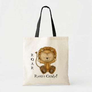 Le sac de sucrerie de Lion-Halloween de bébé/perso
