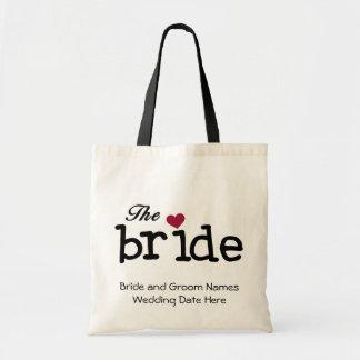 Le sac fourre-tout customisé par jeune mariée