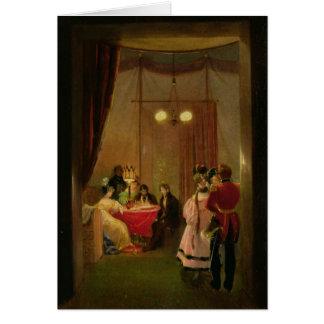 Le salon de Hortense de Beauharnais à Rome Carte