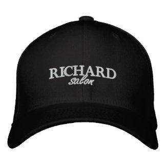 Le salon de Richard a brodé le casquette adapté Casquettes Brodées