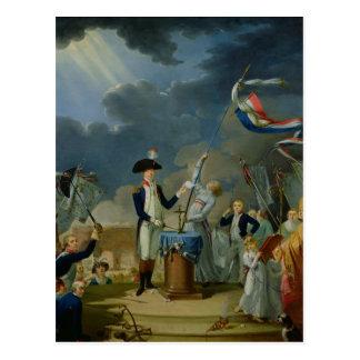 Le serment de Lafayette Carte Postale
