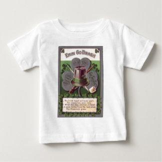 Le shamrock Erin vont tuyau d'argile de Bragh T-shirt Pour Bébé