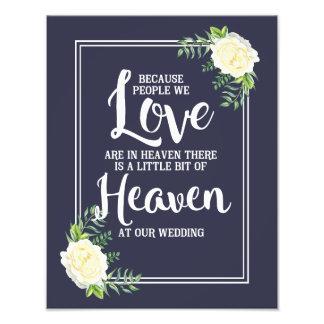 le signe de mariage, ciel au mariage, floral s'est photo d'art