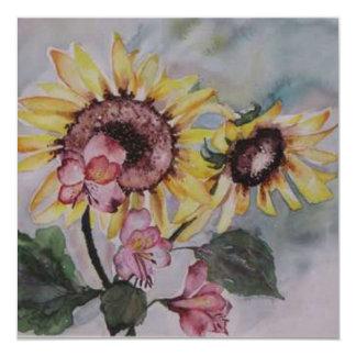 Le Soleil Levant par Lyn Graybeal Carton D'invitation 13,33 Cm