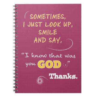 Le sourire des carnets des femmes chrétiennes