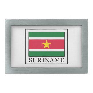 Le Surinam Boucles De Ceinture Rectangulaires