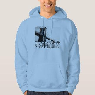 Le sweat - shirt à capuche 2 d'hommes de pont de