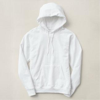 Le sweat - shirt à capuche brodé des femmes faites sweatshirts à capuche brodé