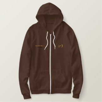 Le Sweat - shirt à capuche Brown des hommes