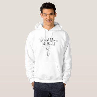 Le sweat - shirt à capuche de base des hommes