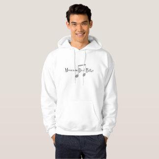 Le sweat - shirt à capuche de base des hommes de