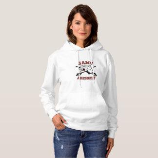 le sweat - shirt à capuche de la femme