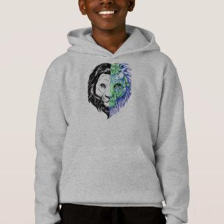Le sweat - shirt à capuche de lion du garçon