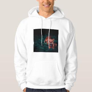 Le sweat - shirt à capuche des hommes de lions