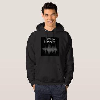 Le sweat - shirt à capuche paranormal des hommes