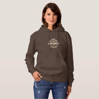 Le sweatshirt à capuchon de base des femmes beiges