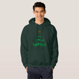 le sweatshirt à capuchon des hommes d'arbre de