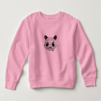 Le sweatshirt de panda de l'enfant en bas âge