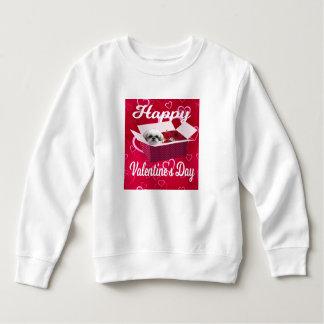 Le sweatshirt de Valentine de tzu de Shih, chien