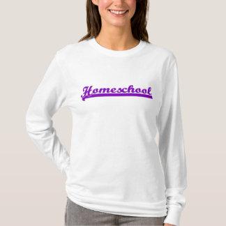 Le sweatshirt des femmes de Homeschool - pourpre