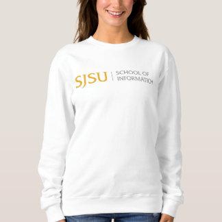 Le sweatshirt des femmes - or/logo gris d'iSchool
