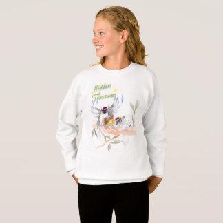 """Le sweatshirt des filles """"cachées de trésors"""""""