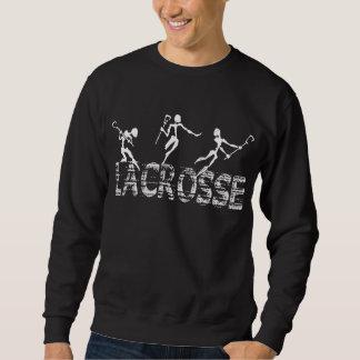 Le sweatshirt des hommes de lacrosse