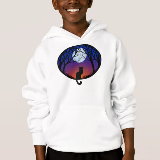 Le sweatshirt du gros enfant de chat de sweat -