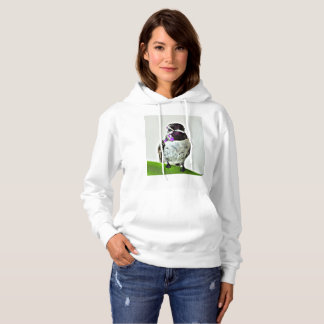 """Le sweatshirt """"Hummer pourpre """" des femmes"""