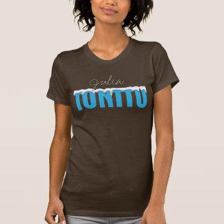 Le T-shirt adapté par obscurité des femmes
