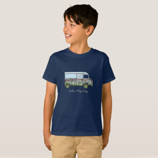 Le T-shirt avec fleurie Citroën HY