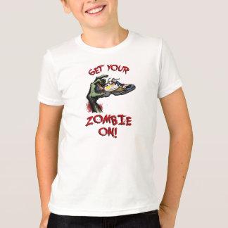 Le T-shirt blanc des enfants