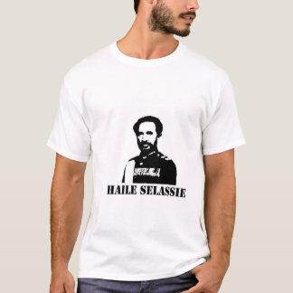 Le T-shirt blanc des hommes de Haile Selassie