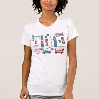 Le T-shirt blanc des rétros femmes d'amour
