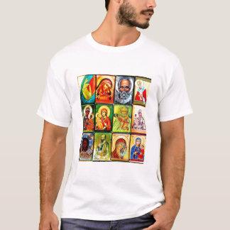 Le T-shirt chrétien d'hommes religieux de thème
