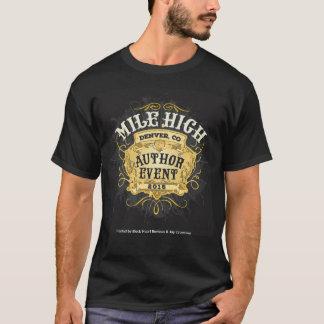 Le T-shirt d'auteur de mille des hommes de haut