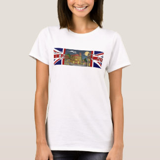 Le T-shirt de base des femmes de pub de Londres
