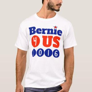 Le T-shirt de base des hommes de Bernie 4 USA