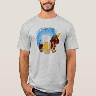 Le T-shirt de base des hommes de teckel