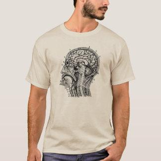 Le T-shirt de base des hommes permis de pensée de