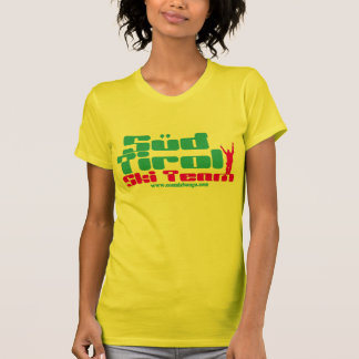 Le T-shirt de bongo de lessive du Tirol de ski des