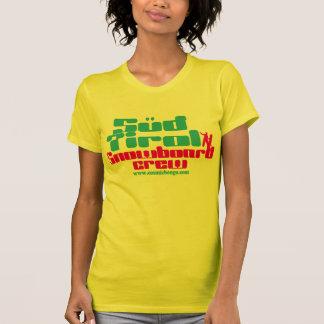 Le T-shirt de bongo de lessive du Tirol des femmes