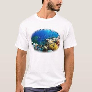 Le T-shirt de corail d'hommes de mer